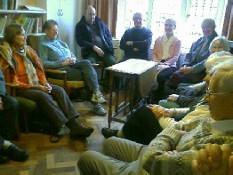 Midweek Meeting for Worship in Canterbury Friends Meeting House Library